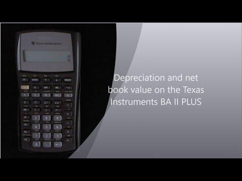 Depreciation on the TI II Plus calculator