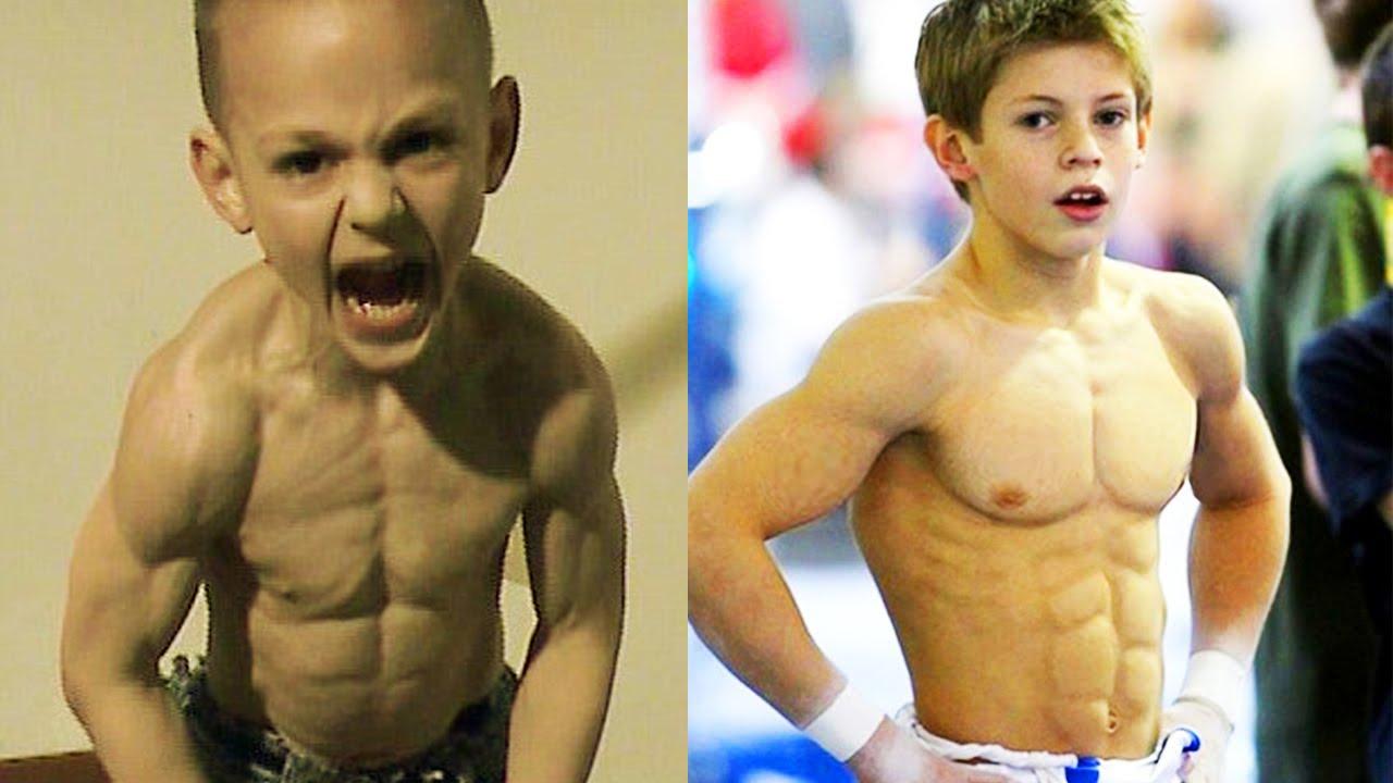 Le Persone Piu Muscolose Del Mondo.I 5 Bambini Piu Forti Del Mondo Assurdo Youtube