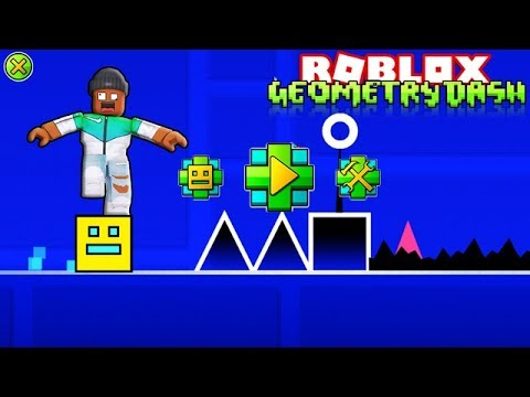 GEOMETRY DASH IN ROBLOX