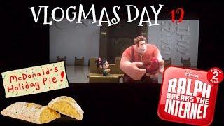 VLOGMAS DAY 12 / MCDONALDS HOLIDAY PIE