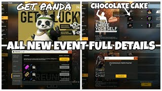 FREE FIRE 2ND ANNIVERSARY EVENT || HOW TO GET PANDA || HOW TO COLLECT CHOCOLATE CAKE