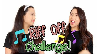 Riff Off Challenge! | Samantha and Madeleine!