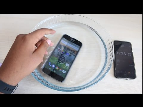 check out 4ed35 9719e Moto G5 Plus Water Test - Is it Waterproof ? - YouTube