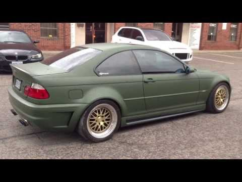 Matte Military Green Bmw M3 By Restyle It Wrapped To