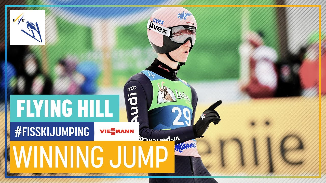Karl Geiger | 1st place | Planica | Flying Hill #3 | FIS Ski Jumping