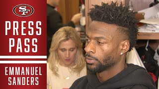 Emmanuel Sanders: 'I Love this Team and this Organization' | 49ers