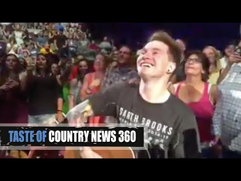 Garth Brooks Gives Fan His Guitar and Freaks Out! - Taste of Country News 360