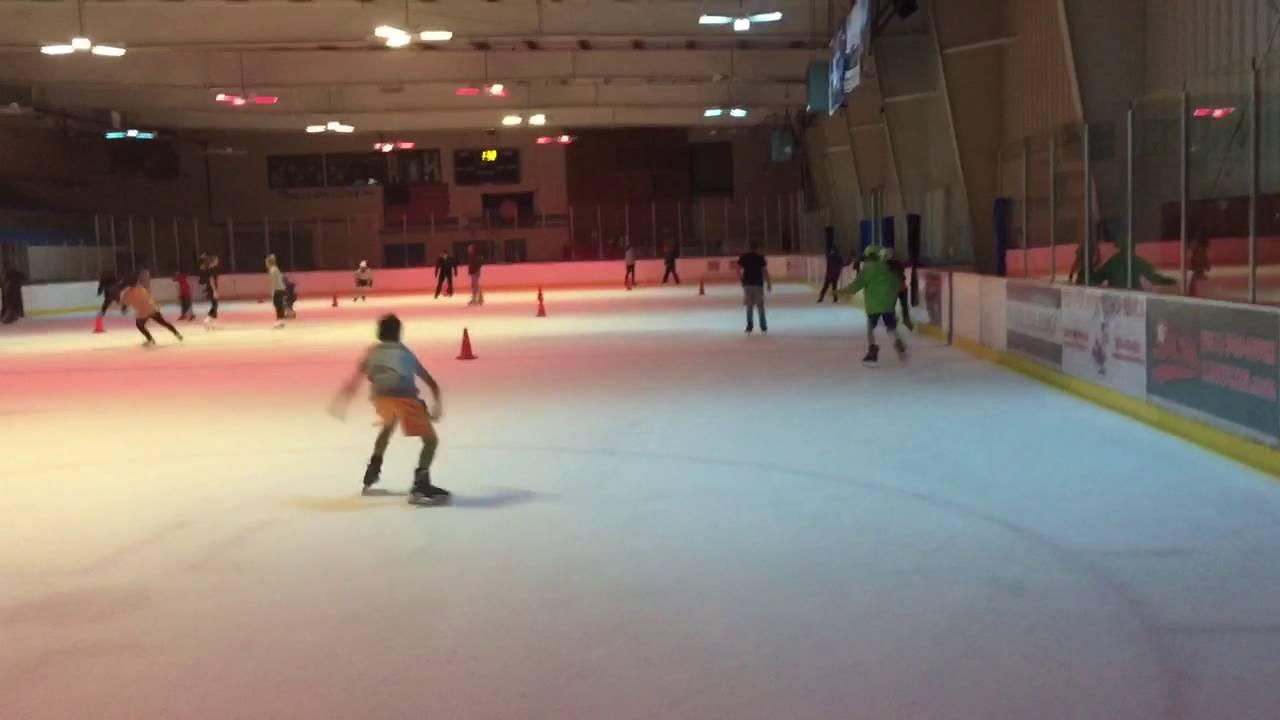 ny long island hidden pond park ice skating youtube