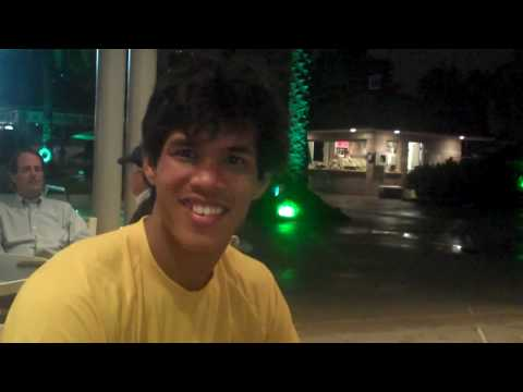 Somdev Devvarman rainout interview