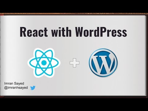 #2 Get WordPress POST JSON REST API | React WordPress tutorial | React WordPress theme Integration thumbnail