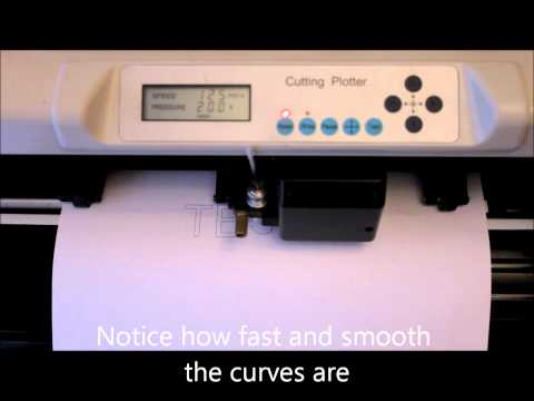 Install redsail cutting plotter usb