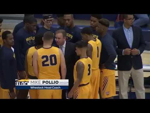 NCAAM Basketball 2017 18   Wheelock College vs New Hampshire   10 11 2017