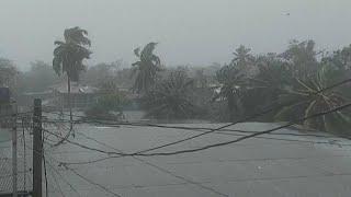 Muerte y destrucción al paso del huracán Eta por Nicaragua y Honduras