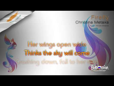"Christina Metaxa - ""Firefly"" (Cyprus) - [Karaoke version]"