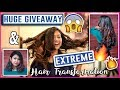 EXTREME HAIR TRANSFORMATION + HUGE GIVEAWAY! ThatQuirkyMiss