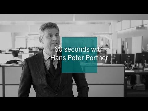 60 seconds with Hans-Peter Portner - Pictet Asset Management