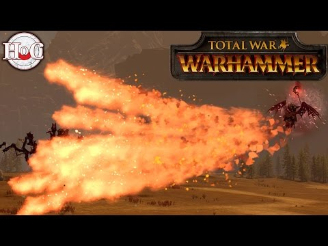 Gaze of Nagash Test - Total War Warhammer