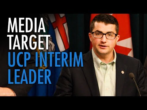 """Media hits UCP interim leader with so-con """"gotcha"""" questions"""