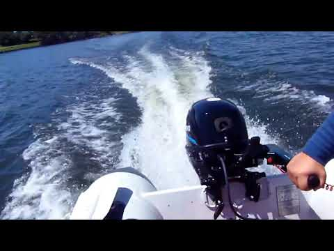 Innovocean Master Series Boat MA 330 (11 feet) with a 9.8 HP Motor on Lake Ontario