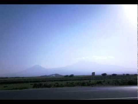 Way from Khor Virap to YereVan