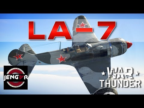 War Thunder Realistic: La-7 [Energy Monster]