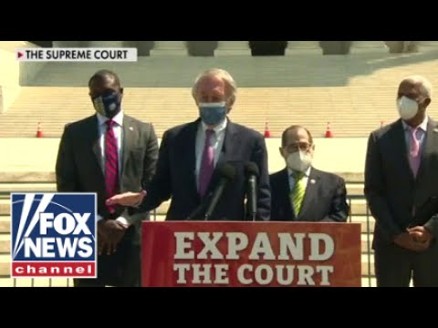 'The Five' blast 'tyrannical' far-left Dem plans to pack Supreme Court
