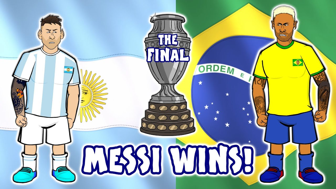 Messi Wins First Title With Argentina, Against Brazil in Copa Amrica