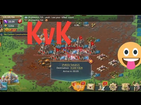 Lords Mobile September Kvk Last Part | September Kvk 2019 Lords Mobile