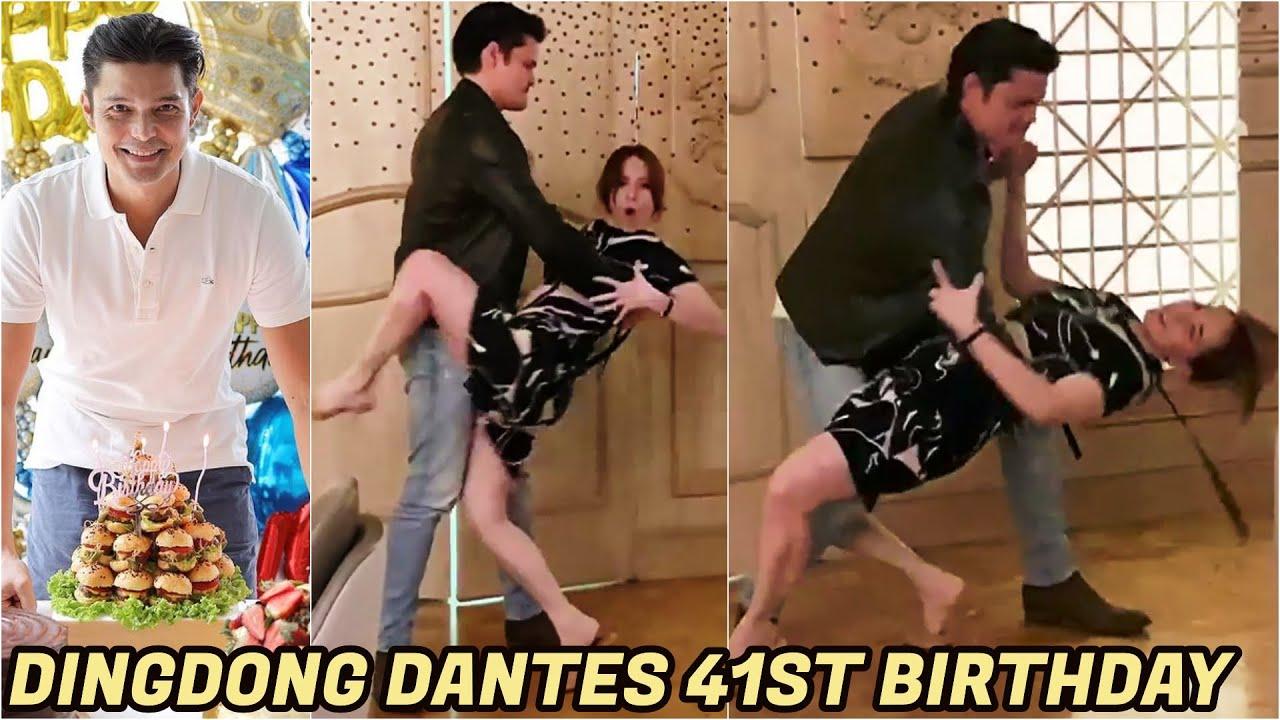 BIRTHDAY DANCE ni Marian kay Dingdong VIRAL AGAD! Dingdong Dantes 41st Birthday