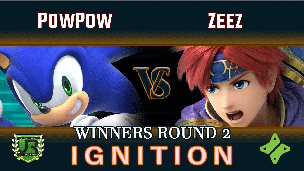 Download Ignition #221 WINNERS ROUND 2 - PowPow (Sonic, Wii Fit Trainer) vs Zeez (Roy)