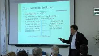Miszlivetz Ferenc : A demokrácia jövője - civil társadalom, közbizalom (4/13.) Thumbnail