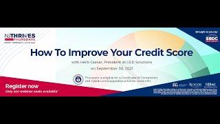 NJTT #021: How To Improve Your Credit Score