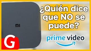 Como INSTALAR Amazon Prime Video | Mi Box s | 100% Estable 😎
