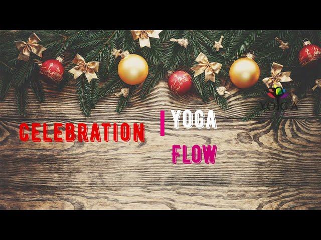 Yoga flow celebration