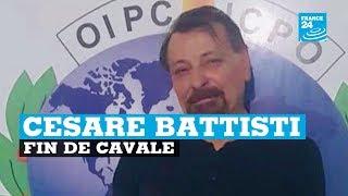 Fin de cavale pour Cesare Battisti, ex-militant italien d'extrême gauche