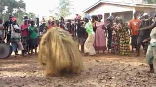 Sierra Leone   devil dancing 2012