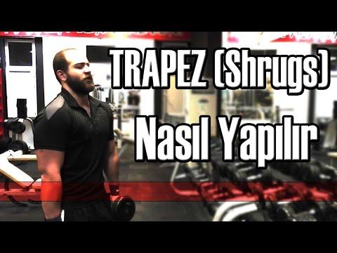 Spor Salonunda Yapılan Hatalar 12 - Trapez Kası Nasıl Yapılır | How to do Shrug