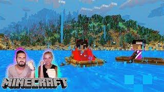 ÜBERLEBEN AUF FREMDEM PLANETEN! SCHAFFEN KAAN + NINA DAS? Minecraft zwischen Wüsten Schnee Bergen