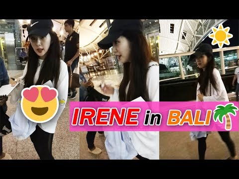 Red Velvet IRENE vacation in Bali, Indonesia | 레드벨벳 아이린