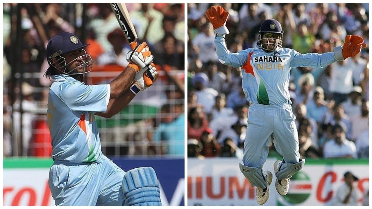 MS Dhoni 50* and 2 Stumpings vs Australia | Man of the Match | IND vs AUS 2007 | 4th ODI Chandigarh