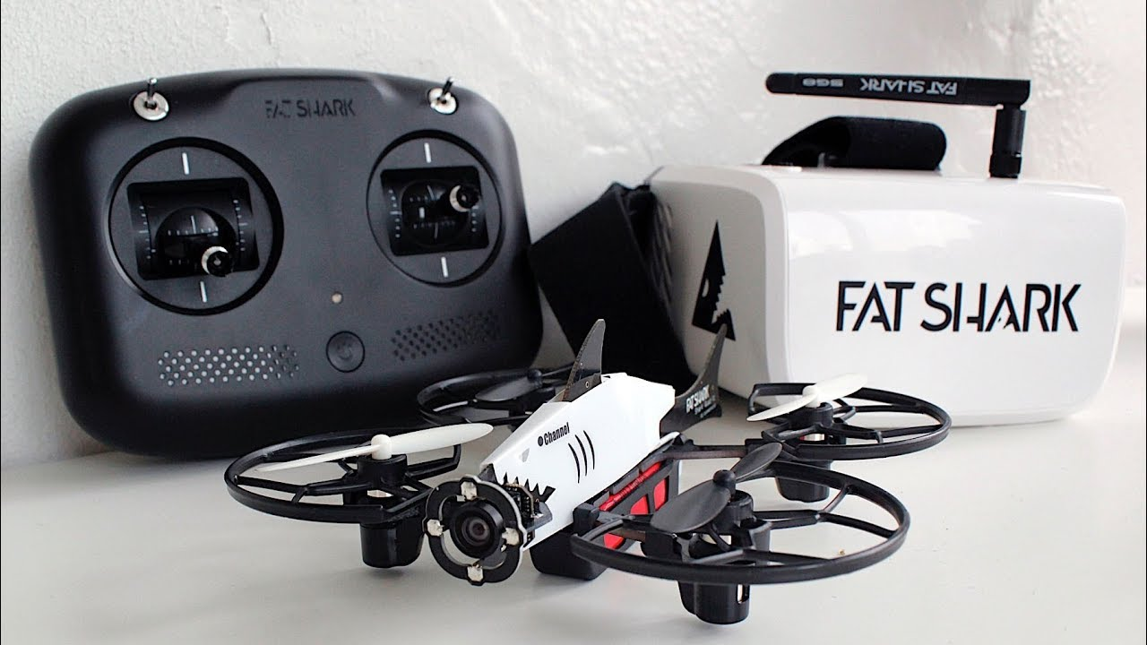 Fat Shark 101 FPV Drone Training System.