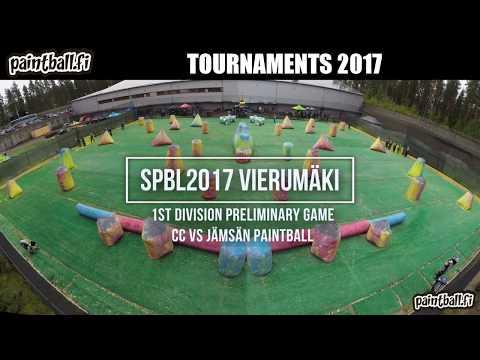 CC vs Jämsän Paintball - SPBL2017 Vierumäki