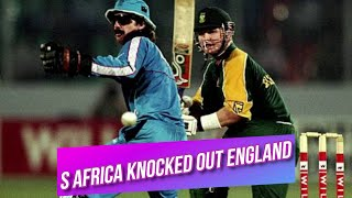 South Africa knocked out England | 1st Quarter Final | Mini World Cup 1998 Highlights