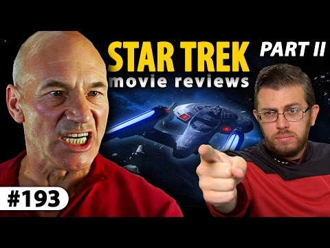 STAR TREK Movie Reviews (Part II) - The Next Generation