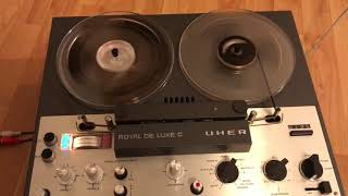 Uher Royal deLuxe Demo