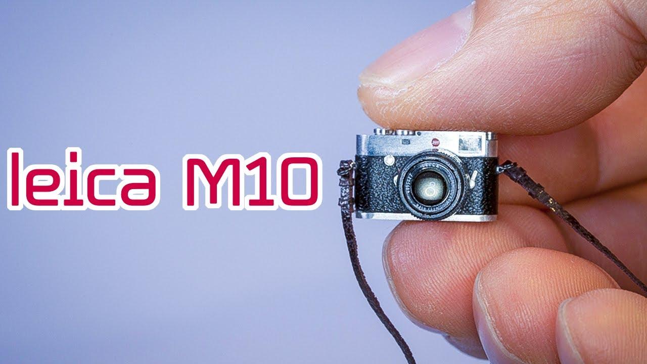 [재업] MINIATURE [미니 카메라 만들기] 라이카M10. [ENG SUB]Making a miniature camera LEICA M10