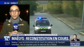 Affaire Maëlys: une reconstitution minute par minute des événements