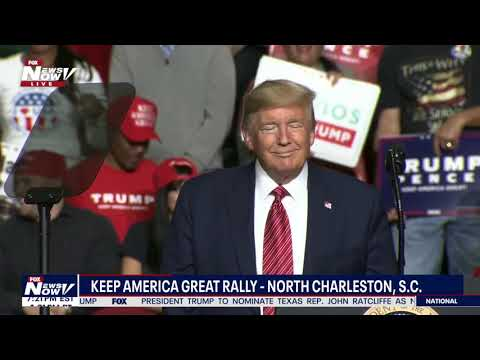 FULL RALLY: Trump rally in South Carolina ahead of primary