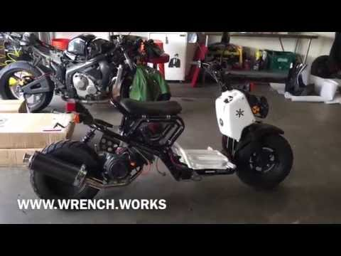 150cc Gy6 Stock Factory Look Honda Ruckus www.rollingwrenchdenver.com