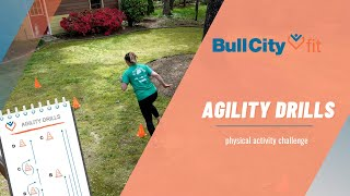 AGILITY DRILLS | work on your sport skills with Bull City Fit
